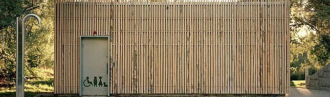 Örbadet, utilities pavilion by Marge Arkitekter 02