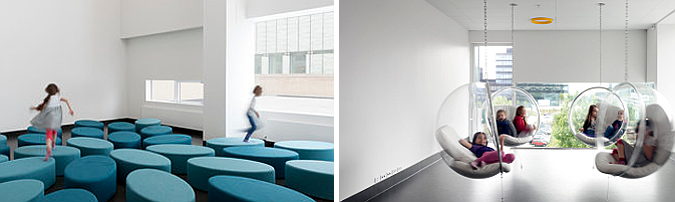 Ørestad School and Library, interior design 01