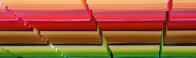 100 colors, exhibition 01