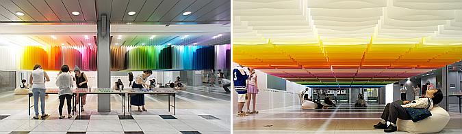 100 colors, exhibition