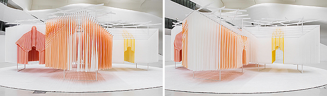4 habitats exhibition by Suh Architects