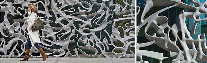 graffiti o enrejado - 40 bond streer