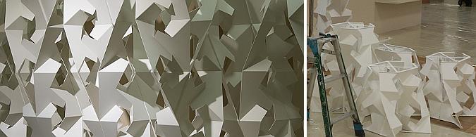 4D origami, loewe exhibition 01