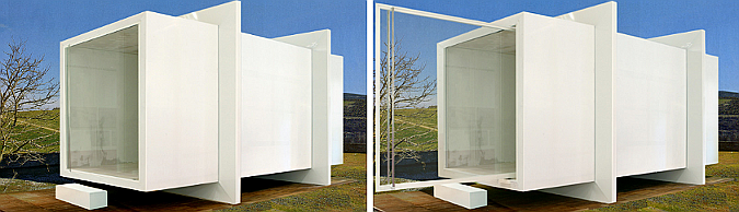 casa caja - absolute box, prototipe house