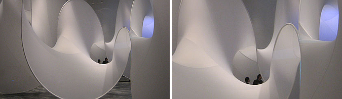 arquitectura, nudos y medusas - animated knot, installation