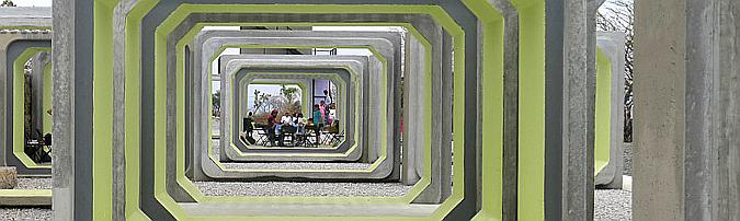 Arena Teques, pabellones y torre mirador en el lago Tequesquitengo 02