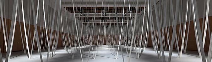 la presencia del vacío - bare room, installation