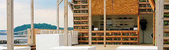 Caban beach house