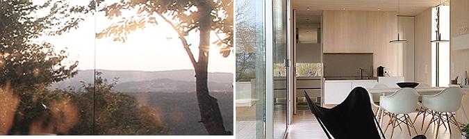 entre reflejos - casa invisibile, modular house