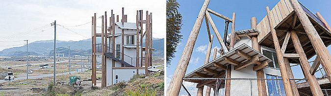 punto de encuentro - casa para todos en rikuzentakata