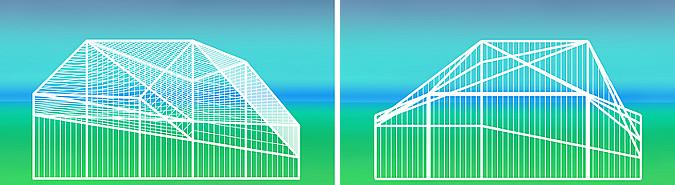 Curtain, garden pavilion 01