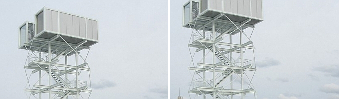 una casa en el cielo - sky is the limit, dmz tea house