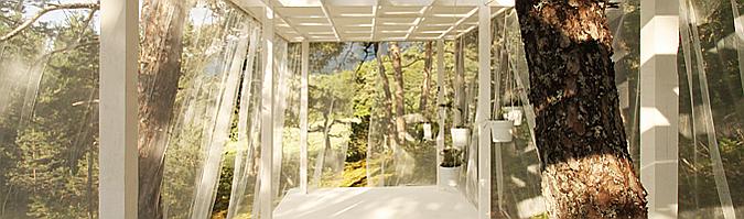 Judit bellostes entre telas desde mi rbol pabell n for Pabellones arquitectura efimera