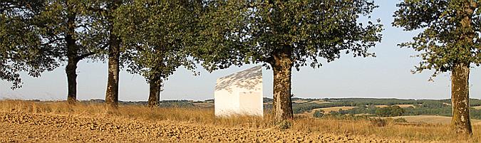 Ephemeral Gallery, art installation 01