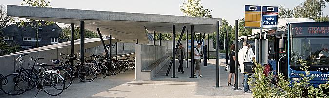 conexiones - estación de autobuses transferium haren