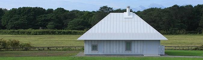 de tela y de la luz - memu meadows, experimental house