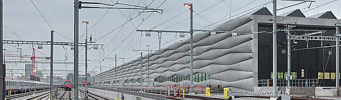 entre vías – extension railway service facility
