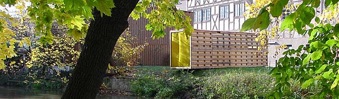 al margen - fischbar, temporary pavilion