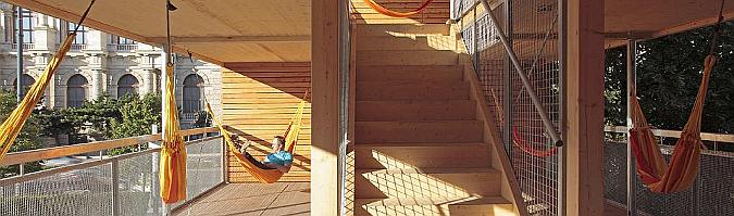 la casa de los murciélagos - flederhaus, temporary pavilion