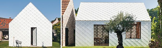 Garden Pavilion in Smetlede by Indra Janda architect