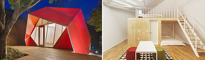 Glamping Tents by Atelier Chang