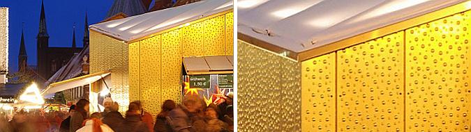 Golden Christmas Market Stalls 02