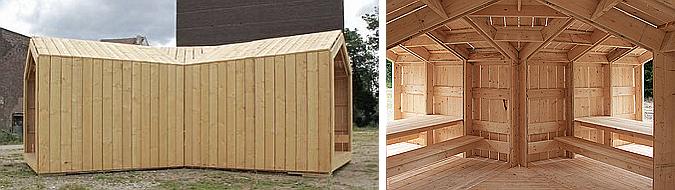 producción local - guesthouse belvédère 2.0, pavilion