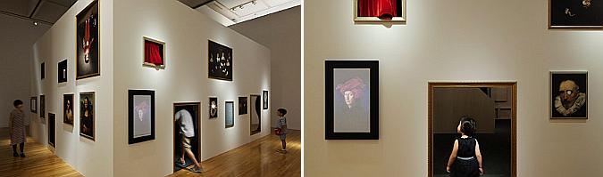 el museo encantado - haunted play house, art exhibition