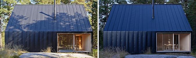 de madera y metal - husarö house