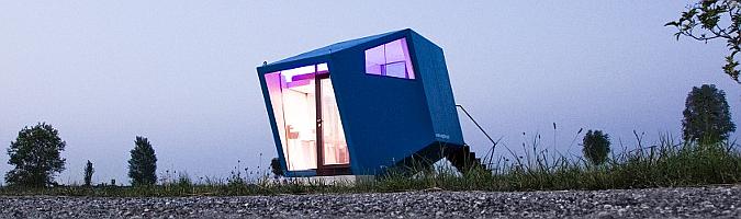Hypercubus mobile hotel room