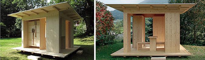 pabellón de jardín modular - jodok, modular garden pavilion