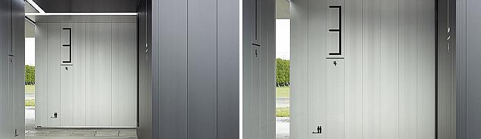 Kambara aluminium gatehouse