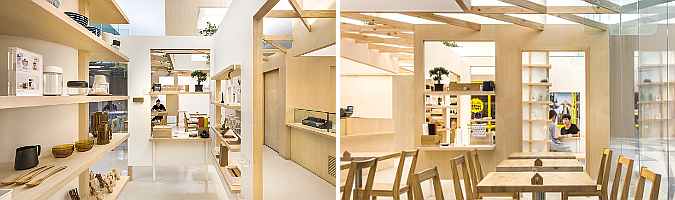 Kki Sweets, cake shop and store by Produce Workshop 01
