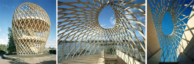 madera trenzada - korkeasaari lookout tower