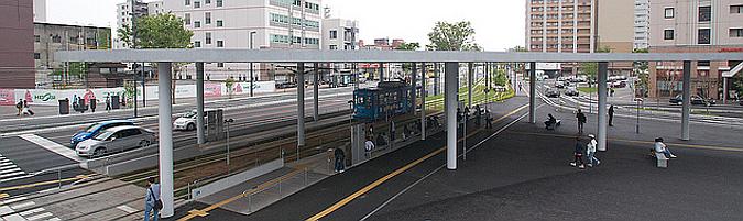 Kumamoto Station East Exit Station Square
