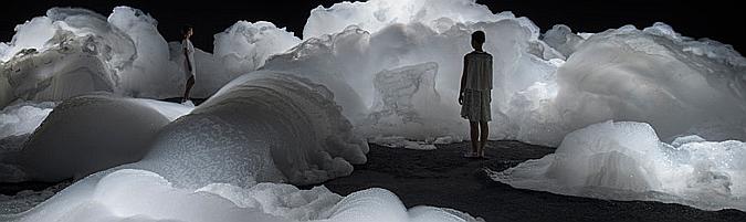 Landscape of soapy bubbles, Aichi triennale 2013