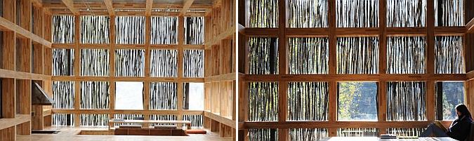 materialidad local - LiYuan library