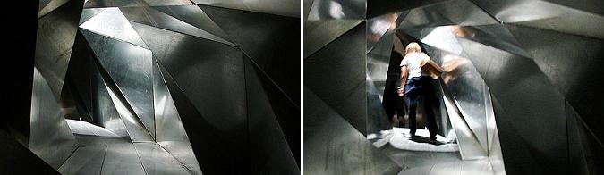 morfología interior - life tunnel, installation