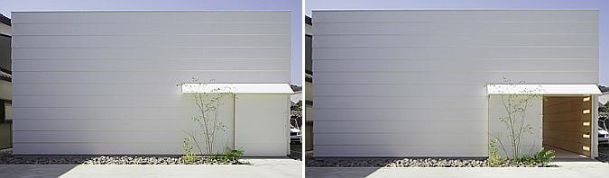 Light Walls House, Toyokawa City