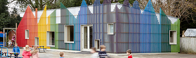 Little Hall, Prestwood Infant School by De Rosee Sa
