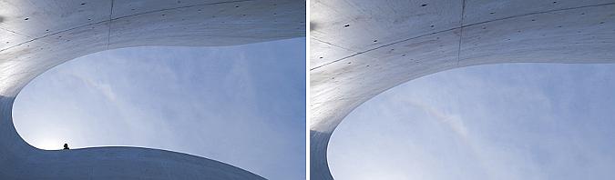 de hormigón, aire y luz - mimesis museum