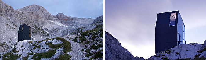 Mountain bivouac, Grintovcem 01