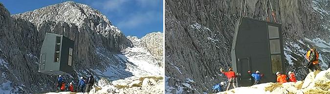 Mountain bivouac, Grintovcem 04