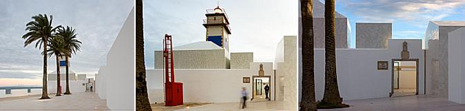 trazas blancas en la memoria - museu do farol de Santa Marta