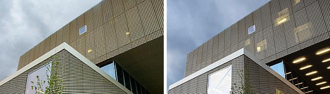 dorado por fuera, dorado por dentro -  nordvest, culture house and library