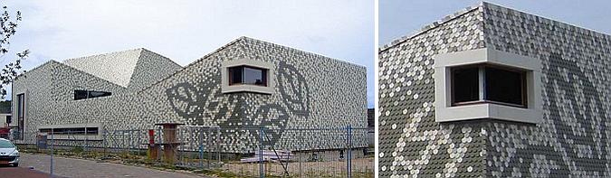 mosaico de tejas - oosseld comunity center