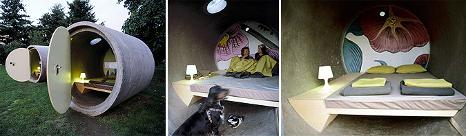 habitación cilindro - dasparkhotel