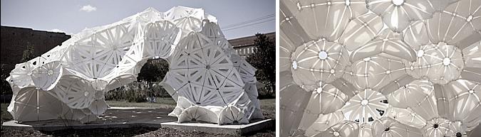 mosaico de plástico y de luz - plasti(k) pavilion