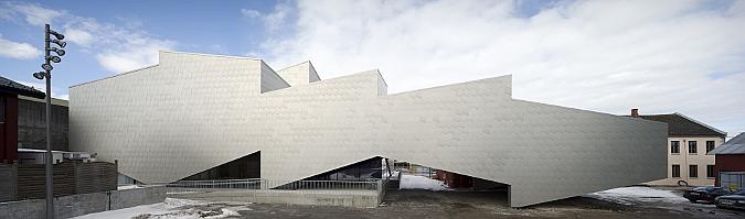 tejuelas de aluminio - porsgrunn maritime museum