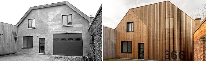 SM Gent house renovation by Simon Vermote architectuur 01